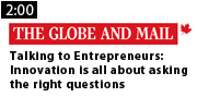 Talking to Entrepreneurs - Innovation is all about asking the right questions