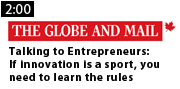 Talking to Entrepreneurs - If Innovation is a sport, you need to learn the rules